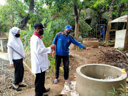 SDA Personnel Build 6 Infiltration Wells on Jalan Jambore Cibubur