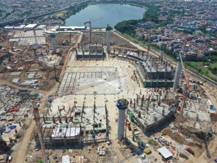 JIS Development Progress Reaches 49.36 Percent