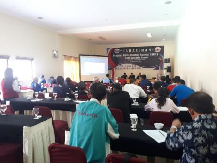 Pengurus 13 Cabor Hadiri Sarasehan KONI Jakarta Utara