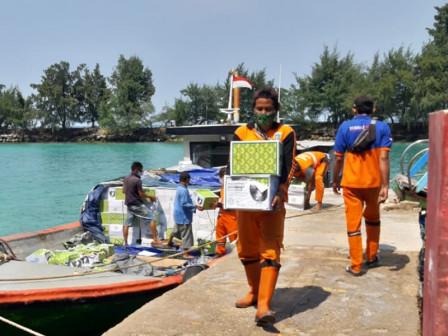Pemkab Kepulauan Seribu Salurkan Dua ribu Paket Sembako Untuk Warga