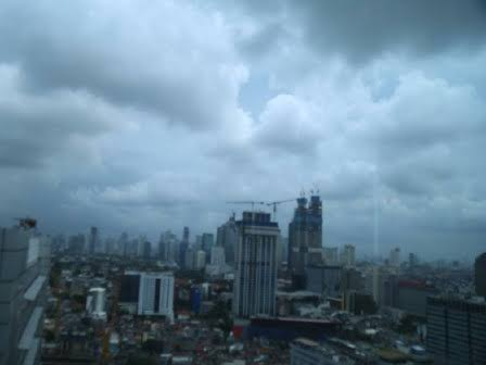 This Saturday, Rain is Potential to Fall Throughout Jakarta Areas