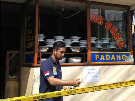 Tabung Gas Meledak di Rumah Makan Padang Palmerah