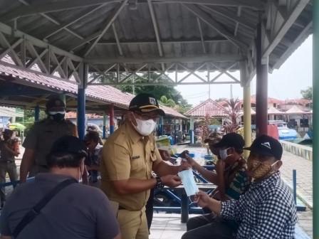 Perpanjangan PPKM Mikro Disosialisasikan di Pulau Kelapa