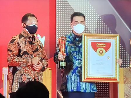 Pemprov DKI Raih Predikat Terinovatif dalam Penghargaan IGA 2020