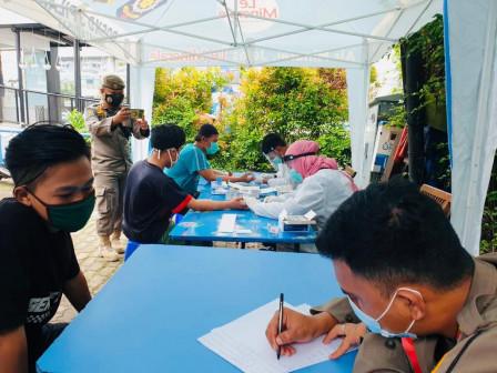 Wali Kota Jakpus Imbau Pedagang Patuhi Prokes