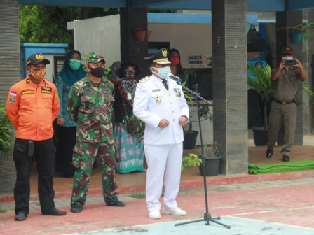 Regency Officially Closes the Humanitarian Post on Lancang Island