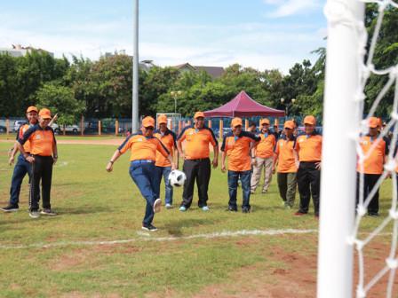 Festival Olahraga Rakyat Cabor Futsal di Jakut Resmi Dibuka