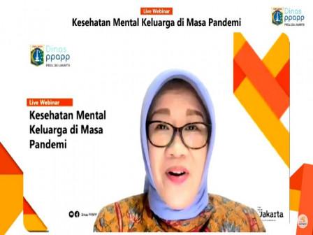 Dinas PPAPP Gelar Webinar Kesehatan Mental Keluarga di Masa Pandemi