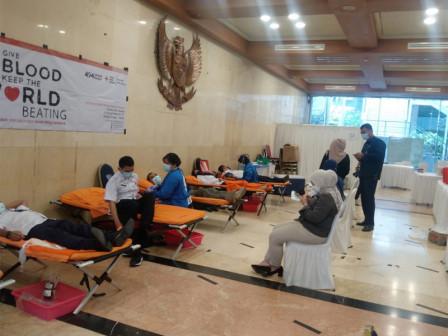 BKD - PMI DKI Jakarta Gelar Aksi Donor Darah