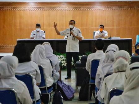 Wali Kota Jakpus Minta CPNS Tingkatkan Kapasitas SDM