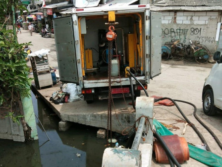 Tidal Flood has Receded in Muara Angke