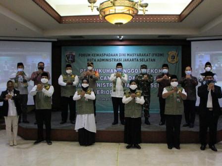 Wali Kota Jaksel Kukuhkan 545 Anggota FKDM
