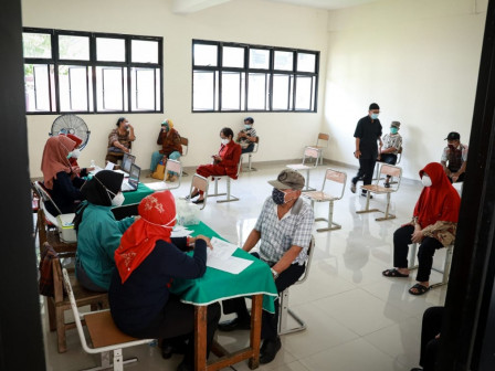 Here are COVID-19 Dynamic Vaccination Locations for Elderly People in North Jakarta