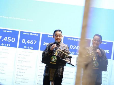 Rapat Bersama Forkopimda, Gubernur Anies Jelaskan Strategi Penanganan Pandemi di Jakarta
