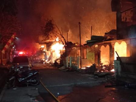 Kebakaran di Kebon Manggis Timbulkan Kerugian Materi Rp 1 Miliar