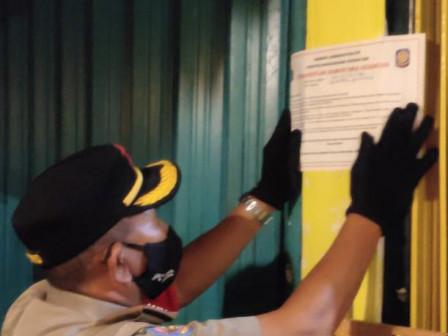 Langgar PSBB, Tiga Tempat Ushaa di Jaktim Disegel