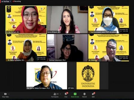 DKI Berkalobarasi dengan DRD dan UI Gelar Webinar Perempuan Bicara Tentang Perempuan