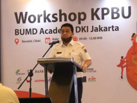 Inaugurating KPBU Workshop, Ariza Expects Jakarta BUMDs to Transform Business Model
