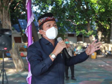 Anggota Komisi A Ini Sosialisasikan Perda BPBD di Pulau Pramuka