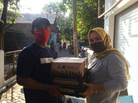 140 Bansos Packages Distributed to Residents in the Farthest Island