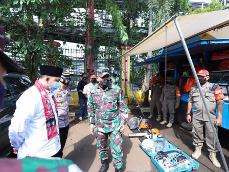 East Jakarta Deputy Mayor Ensures Readiness of Disaster Management Infrastructure