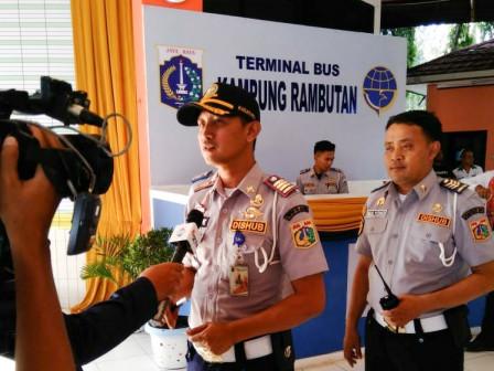 Puncak Arus Balik Terminal Kampung Rambutan Diprediksi Hari Minggu