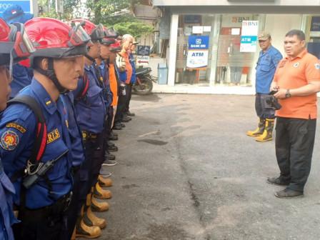TPB Karhutla Personnel Start Moving to Pemunduran, Jambi