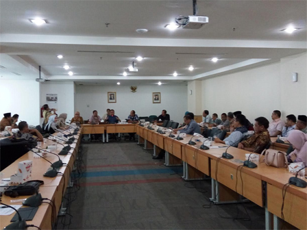 Four Cities Conduct Work Visit to Jakarta DPRD