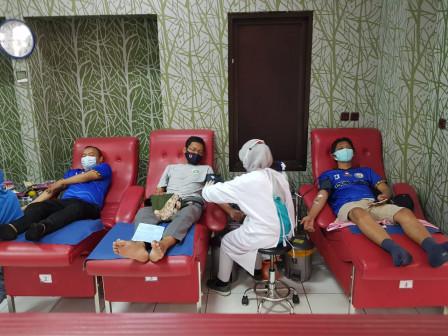 Puluhan Anggota NJ Mania Meriahkan Kegiatan Donor Darah