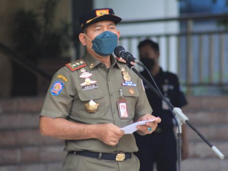 Lindungi Warga, Satpol PP DKI Gencarkan Operasi Pembersihan Ranjau Paku