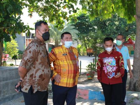 Aspemkesra Awali Kunjungan Kerjanya Dengan Monitoring Wilayah Kepulauan Seribu Utara