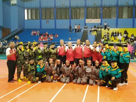 Kecamatan Tanjung Priok Juara Umum FORST Cabor Senam Jakut