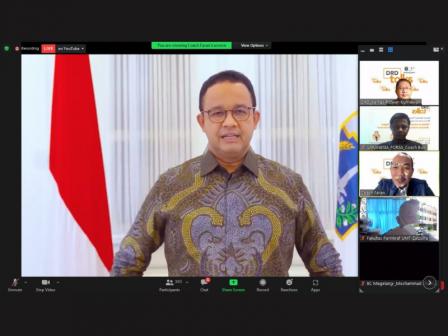 DRD Gelar Webinar Strategi Pemulihan Ekonomi Jakarta Pasca Pandemi