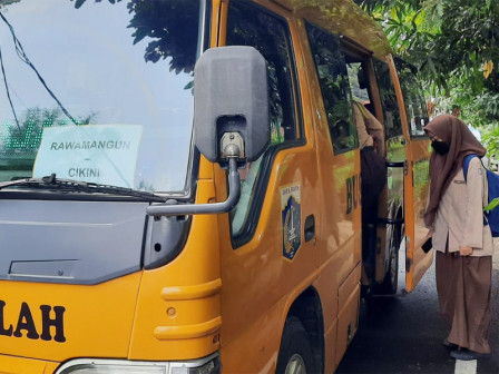 KBM Tata Muka, 50 Bus Sekolah Dioperasikan Antar Jemput Siswa