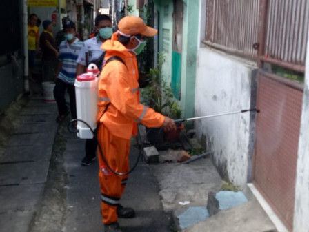 RW 02 in Tanah Sereal Urban Village Sprayed with Disinfectant