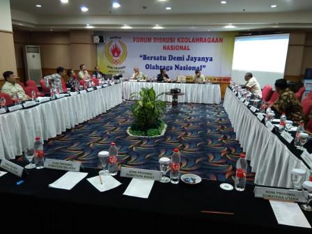DKI Jadi Tuan Rumah Forum Diskusi Keolahragaan Nasional