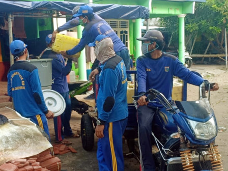 Clean Water for Portable Sinks on Untung Jawa Island are Fulfilled