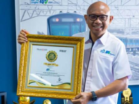 PT MRT Jakarta Raih Penghargaan Top Corporate Social Responsibility of the Year 2021