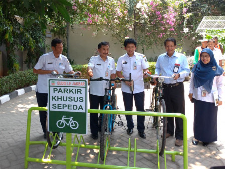 West Jakarta Environment Office Provides Bicycle Parking