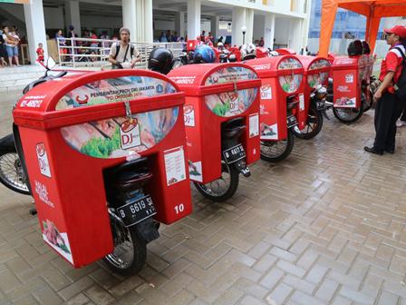 Kembangkan Penjualan Daging Online, Dharma Jaya Tambah 50 Unit Motor@@@