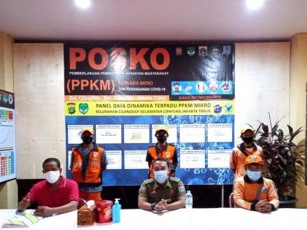Posko PPKM Cilangkap Dilengkapi Berbagai Sarana Prasarana