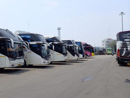 Terminal Bus Tanjung Priok Tutup Layanan Bus AKAP Selama 6-17 Mei 2021