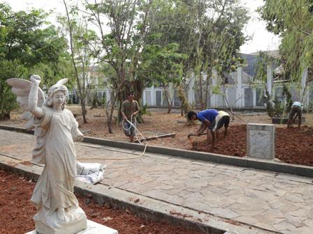 Museum Taman Prasasti Mulai Diperbaiki