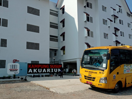 107 KK Telah Menempati Kampung Susun Akuarium Jakut