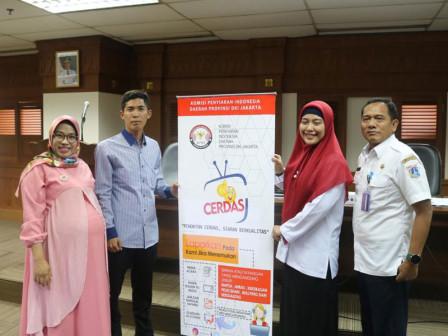 KPID-West Jakarta Socializes Smart Audience Movement