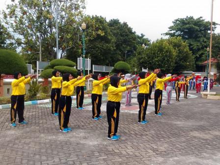 Tim Senam Kelurahan Ikuti Ajang FOST Tingkat Kecamatan Kepulauan Seribu Selatan
