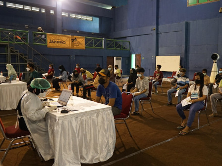 JXB-Jakpro Berkolaborasi Fasilitasi Vaksinasi COVID-19 di GOR Cendrawasih