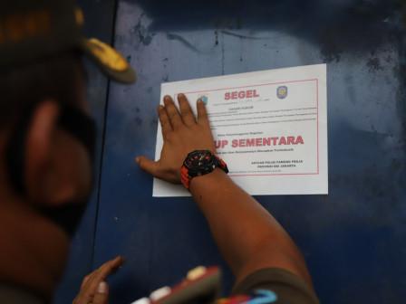North Jakarta Implements Sanctions for PSBB Violators