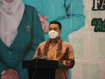 Bukan Konferensi Wilayah XV Fatayat NU DKI Jakarta, Wagub Ariza Dorong Peningkatan Peran Perempuan D