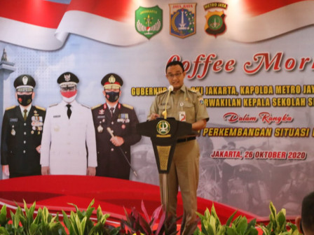 Pemprov DKI Jakarta Siapkan Rancangan Pelaksanaan Pembelajaran, Untuk Diskusi Konstruktif Permasalah